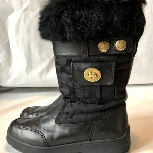 Coach signature Kimberly Classic Snow boot
